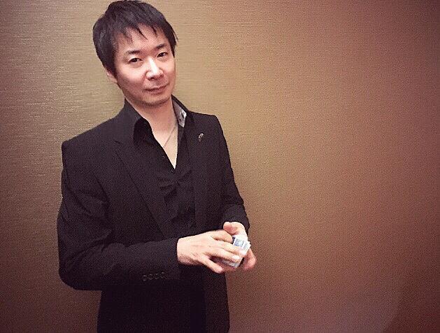 マジシャン池田太郎 代表挨拶写真